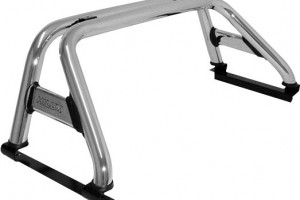 Roll Bar doble barra cromado